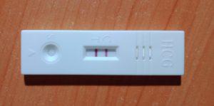妊娠したかもしれないので、検査キットで確認してみたら・・
